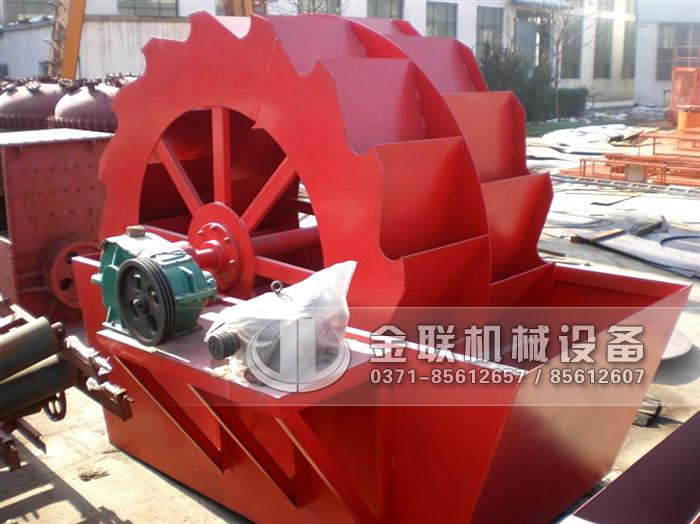 轮斗式洗沙机轴承的维护方法