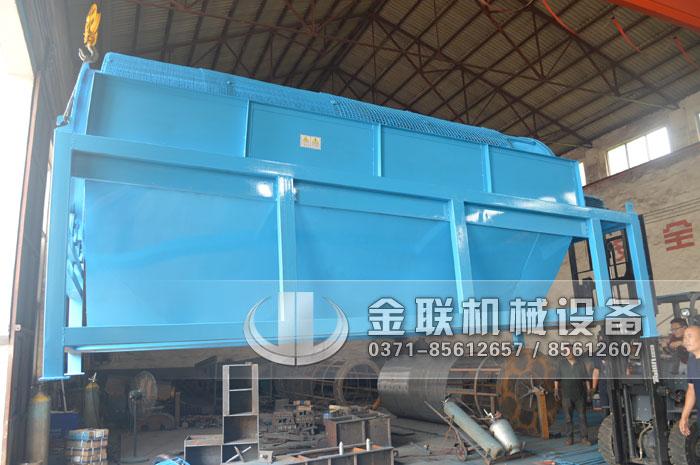 GTS1845重型无轴滚筒筛沙机发货图片_发往河南周口2