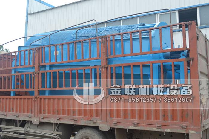 GTS1845重型无轴滚筒筛沙机发货图片_发往河南周口6