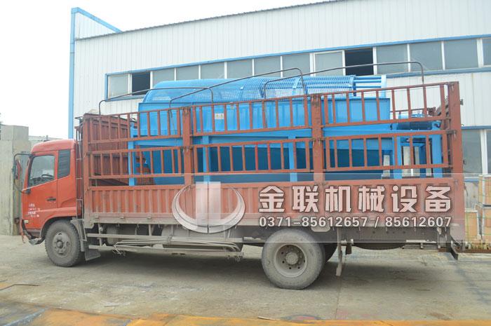 GTS1845重型无轴滚筒筛沙机发货图片_发往河南周口8