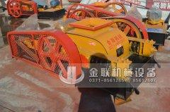 2PGC400X400小型双齿辊破碎机发货图片_发往广西百色_破碎锰矿