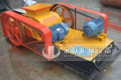 2PG400x400小型对辊破碎机发货图片_发往福建泉州_破碎瓜子石