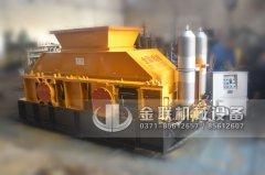 大型全自动液压对辊制砂机发货现场