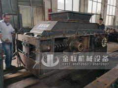 2PG1510超大型直连式对辊制砂机发往陕西