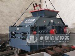 2PG1208直联式对辊破碎制砂机发货图片