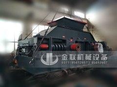 1200x800弹簧式半自动液压对辊破碎机发货图片