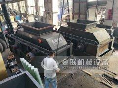2PG1500x800大型直连式液压对辊破碎机发货 发往新疆