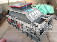 2PG1007中型对辊破碎制砂机发往广东