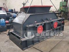 2PG1208大型破碎机设备 液压对辊破碎机发货图片