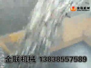 鹅卵石生产现场视频_对辊制砂机视频