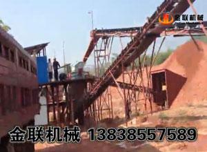广东砂石生产线生产现场视频